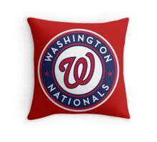 Nationals Throw Pillow