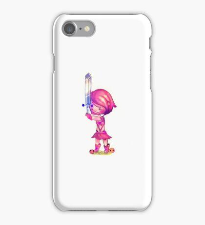 Rpg fighter girl iPhone Case/Skin
