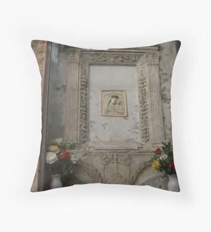 Madonna, Siena Throw Pillow
