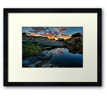 Cove Color Framed Print