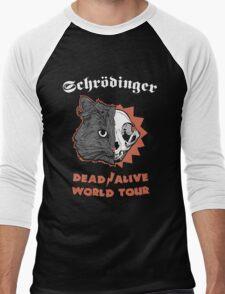 Schrödinger - DEAD/ALIVE World Tour Men's Baseball ¾ T-Shirt