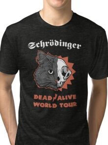Schrödinger - DEAD/ALIVE World Tour Tri-blend T-Shirt