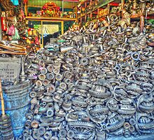 Recycling in Chinatown 2 by Philip Britton