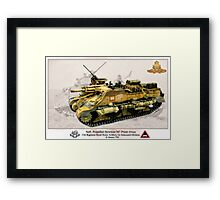 Self-Propelled Howitzer M7 Priest (105mm) Framed Print