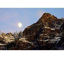 """Autumn Moon"" Photographic Print"
