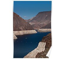 Colorado River Winds to the Hoover Dam Poster