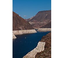 Colorado River Winds to the Hoover Dam Photographic Print