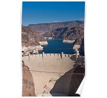 Face of the Hoover Dam Poster