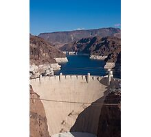 Face of the Hoover Dam Photographic Print