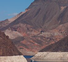Landscape of Hoover Dam by Henry Plumley
