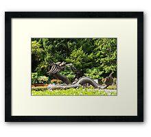 Butchart Gardens, Vancouver Island Framed Print