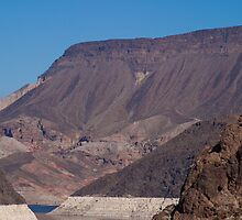 Mountains Before Hoover Dam by Henry Plumley