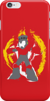Robot Master Fire Man Vector Design by thedailyrobot