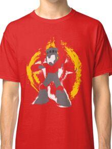 Robot Master Fire Man Vector Design Classic T-Shirt