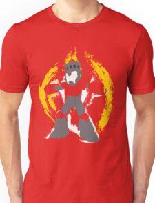 Robot Master Fire Man Vector Design Unisex T-Shirt