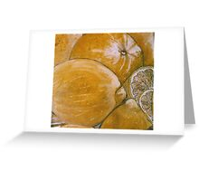 Lemons, for a friend. Greeting Card