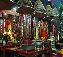 Shinto Temple Tai O by Polly Greathouse