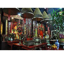 Shinto Temple Tai O Photographic Print
