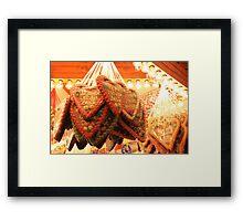 Gingerbread Love Framed Print