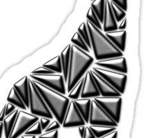 Metallic Giraffe Sticker
