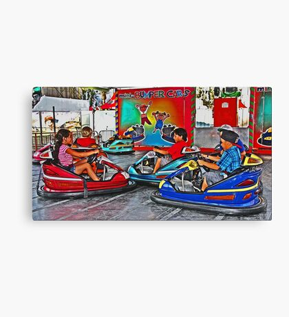 Driving School Canvas Print