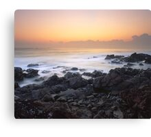 """The Mist"" ∞ Hastings Point, NSW - Australia Canvas Print"