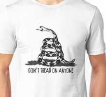 Don't Tread on Anyone Unisex T-Shirt