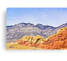 Ribbon of Red Canvas Print