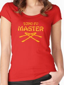 Tong Fu Master Women's Fitted Scoop T-Shirt