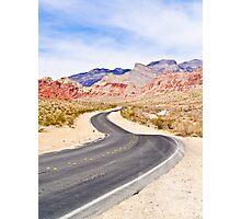Winding Road - Tall Shot Photographic Print