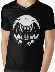 Teddy Bat Mens V-Neck T-Shirt