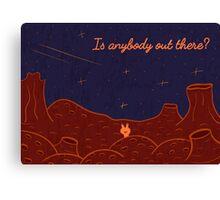 Martian Canvas Print