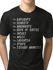 Seasons of love Tri-blend T-Shirt