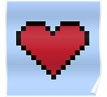 Pixel Heart Container Poster