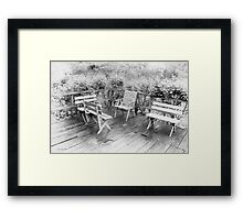 A Cool Place Framed Print