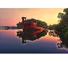 Shipwreck @ Homebush Bay Photographic Print