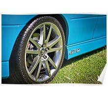 Turismo Blue Monaro GTO Poster
