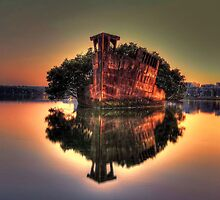 Shipwreck at Homebush Bay by Arfan Habib