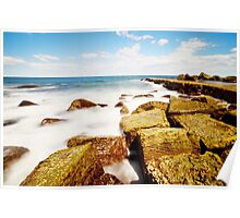 Midday Forries - Forresters Beach Poster