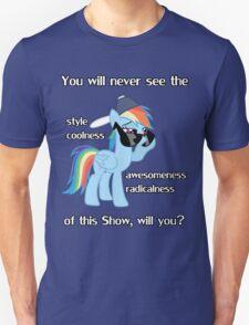 Rainbow Dash Style T-Shirt