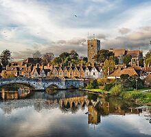 Aylesford Village by Sue Martin