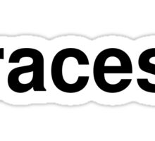 races Sticker
