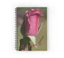 Just For You Spiral Notebook