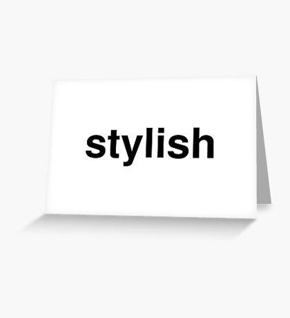 stylish Greeting Card
