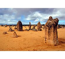 The Pinnacles, Nambung National Park, Western Australia Photographic Print