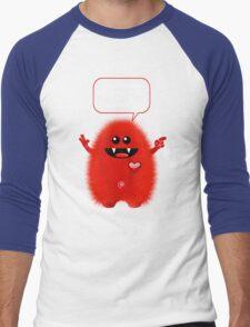 REAL TROUBLE Men's Baseball ¾ T-Shirt