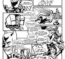 Page 3 of Good Game Batman Comic submission by Michael Lee