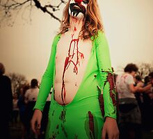 Zombie of the Month - March by Peter Horsman