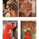 Victorian Christmas Collage by ©The Creative  Minds