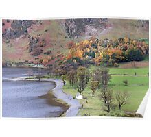 Buttermere in Autumn Poster
